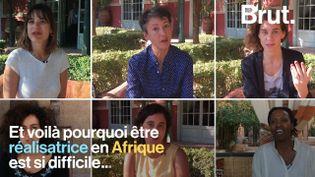 VIDEO. Être réalisatrice en Afrique, une tâche complexe (BRUT)