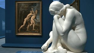 """Le Louvre-Lens présente sa nouvelle exposition temporaire """"Amour"""" avec 250 chefs-d'eouvre.  (France 3)"""
