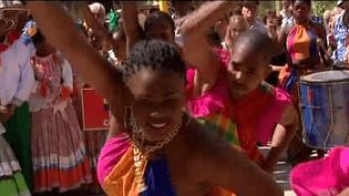 Danseuses du Bénin  (Capture d'écran Culturebox)