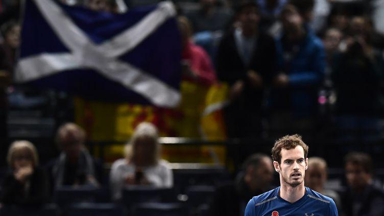 C'est à Bercy que le règne d'Andy Murray doit commencer... (MIGUEL MEDINA / AFP)