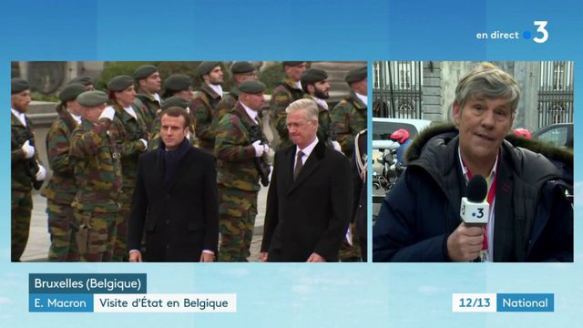 """""""Gilets jaunes"""" : Emmanuel Macron attendu au tournant en Belgique"""