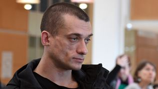 Piotr Pavlenski, le 3 mars 2020. (ALAIN JOCARD / AFP)