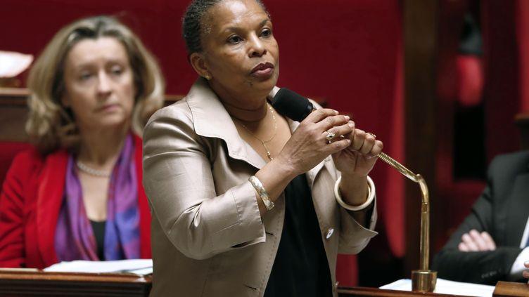 Christiane Taubira, la ministre de la Justice,le 31 octobre 2012. (FRANCOIS GUILLOT / AFP)