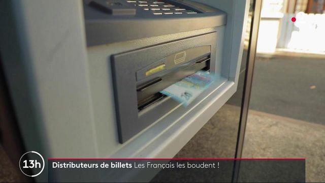 Consommation : les distributeurs automatiques de billets de moins en moins utilisés