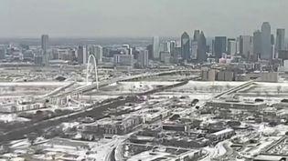 États-Unis : au Texas, Dallas est figé par une vague de froid historique (FRANCE 2)