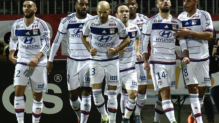 Lyon s'est rassuré contre Toulouse 3-0 (JEFF PACHOUD / AFP)