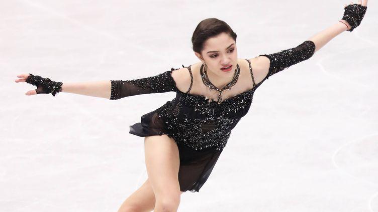 La patineuse Evgenia Medvedeva