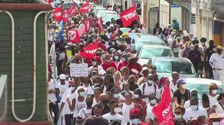 Martinique : des soignants opposés au pass sanitaire au CHU de l'île (FRANCE 2)