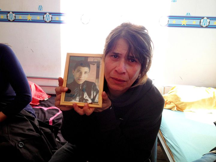 Bahia, la mère de Nabil, 19 ans, retrouvé carbonisé dans une voiture mi-mars à Marseille. (MAXPPP)