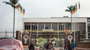 Une vue du parlement camerounais à Yaoundé, le 17 novembre 2017. (- / AFP)