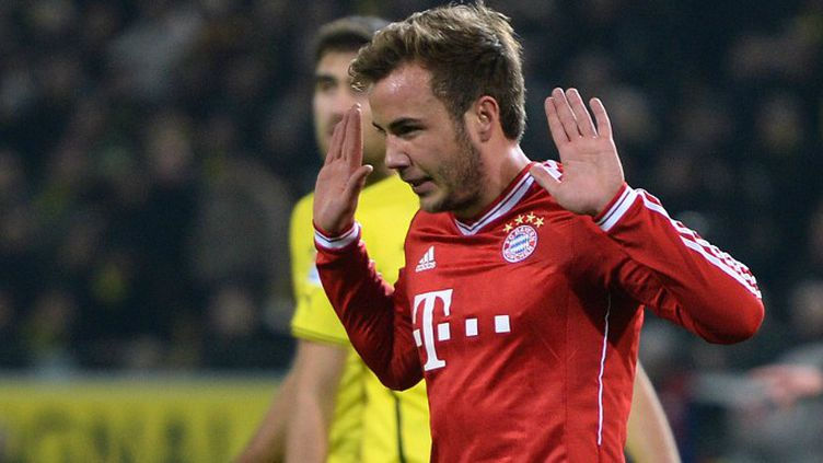 Mario Götze (Bayern Munich).