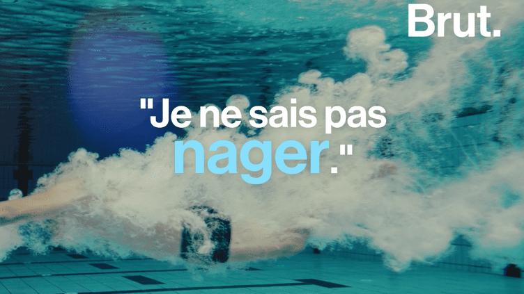 VIDEO. En France, 1 Français sur 6 ne sait pas nager (BRUT)