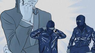 Rêvant d'une vie à la James Bond, des plantons de la DGSE auraient accepté d'éliminer une cible en pensant agir pour le compte de l'Etat. (NICOLAS DEWIT / RADIO FRANCE)