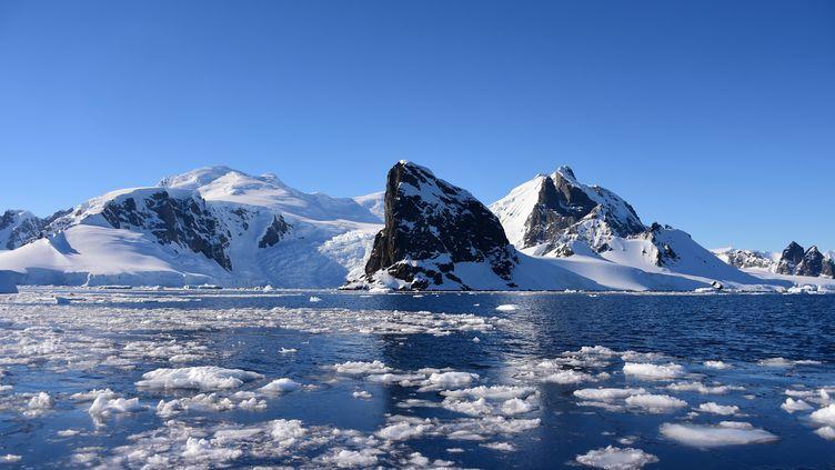 Le portde l'Orne dans les îles Shetland du sud en Antarctique, le 27 novembre 2019. (JOHAN ORDONEZ / AFP)