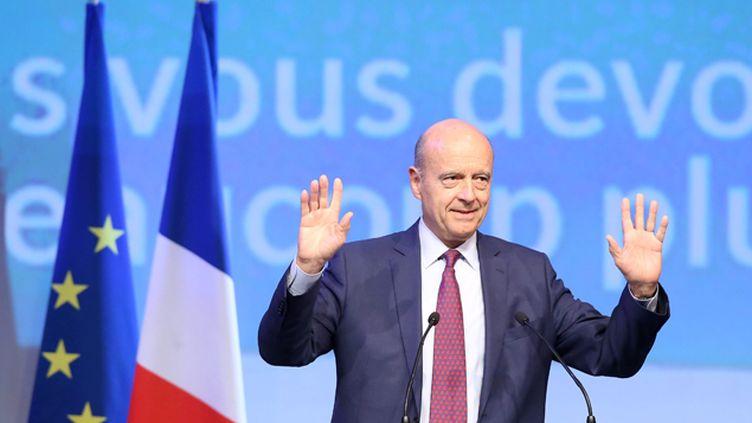 (Alain Juppé, ici en campagne pour les élections régionales en septembre 2015 © MaxPPP)
