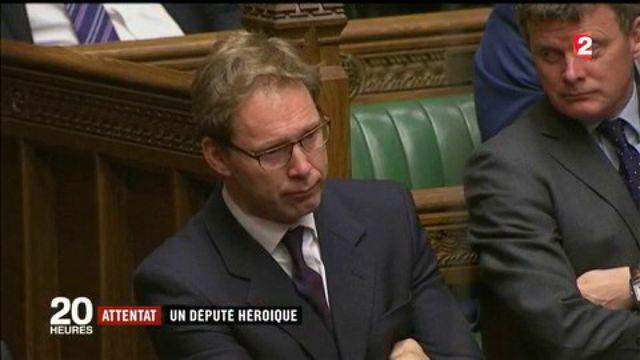 Attaques à Londres : la presse britannique salue son député héroïque
