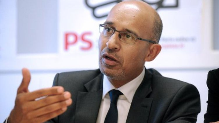 Harlem Désir est le premier secrétaire par intérim du PS depuis l'entrée en campagne de Martine Aubry dans la primaire socialiste. (AFP - Fred Tanneau)