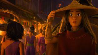 """Image extraite de la bande-annonce du film Disney """"Raya et le dernier dragon"""" (CAPTURE D'ECRAN / DISNEY)"""