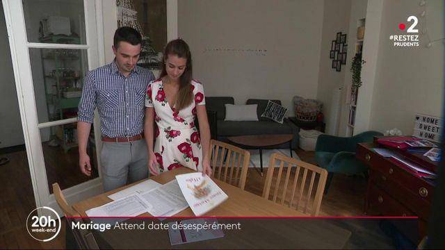 Déconfinement : les futurs mariés dans l'attente