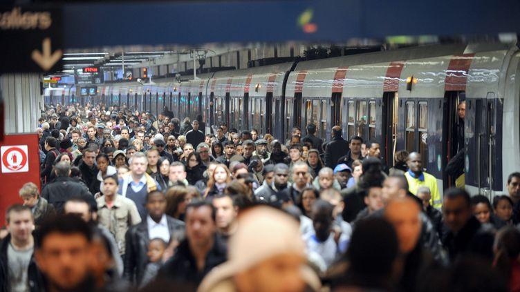 6 Novembre 2008, Gare du Nord à Paris (BORIS HORVAT / AFP)
