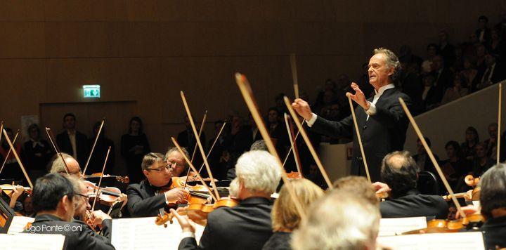 L'orchestre national de Lille sous la direction de Jean-Claude Casadesus  (Ugo Ponte / ONL)