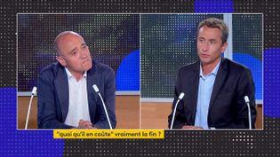 Christophe Ramaux et Etienne Lefebvre (franceinfo)