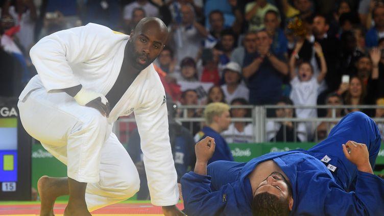 Le judoka français Teddy Riner  (TOSHIFUMI KITAMURA / AFP)
