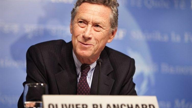 Olivier Blanchard (FMI), ici en avril 2010 (AFP/Stephen Jaffe)
