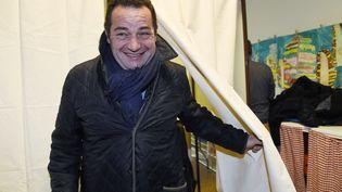 Le président du Parti démocrate-chrétien, Jean-Frédéric Poisson,au bureau de vote de Rambouilet (Yvelines), le 20 novembre 2016.  (BERTRAND GUAY / AFP)