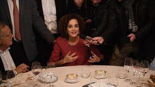Leïla Slimani, lauréate du prix Goncourt, le 3 novembre 2016 (MARTIN BUREAU / AFP)