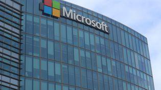 Le siège de Microsoft France à Issy-les-Moulineaux (Hauts-de-Seine). (XAVIER GRUMEAU / RADIO FRANCE)