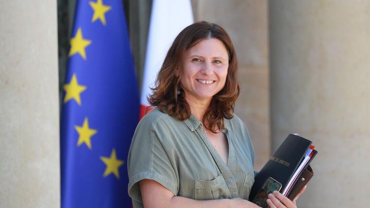 La ministre des Sports, Roxana Maracineanu, à l'Elysée, le 24 juin. (LUDOVIC MARIN / AFP)