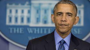 Barack Obama à la Maison Blanche, à Washington (Etats-Unis), le 18 juin 2015. (SAUL LOEB / AFP)