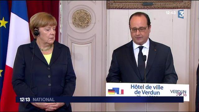 La France et l'Allemagne commémorent le centenaire de la bataille de Verdun