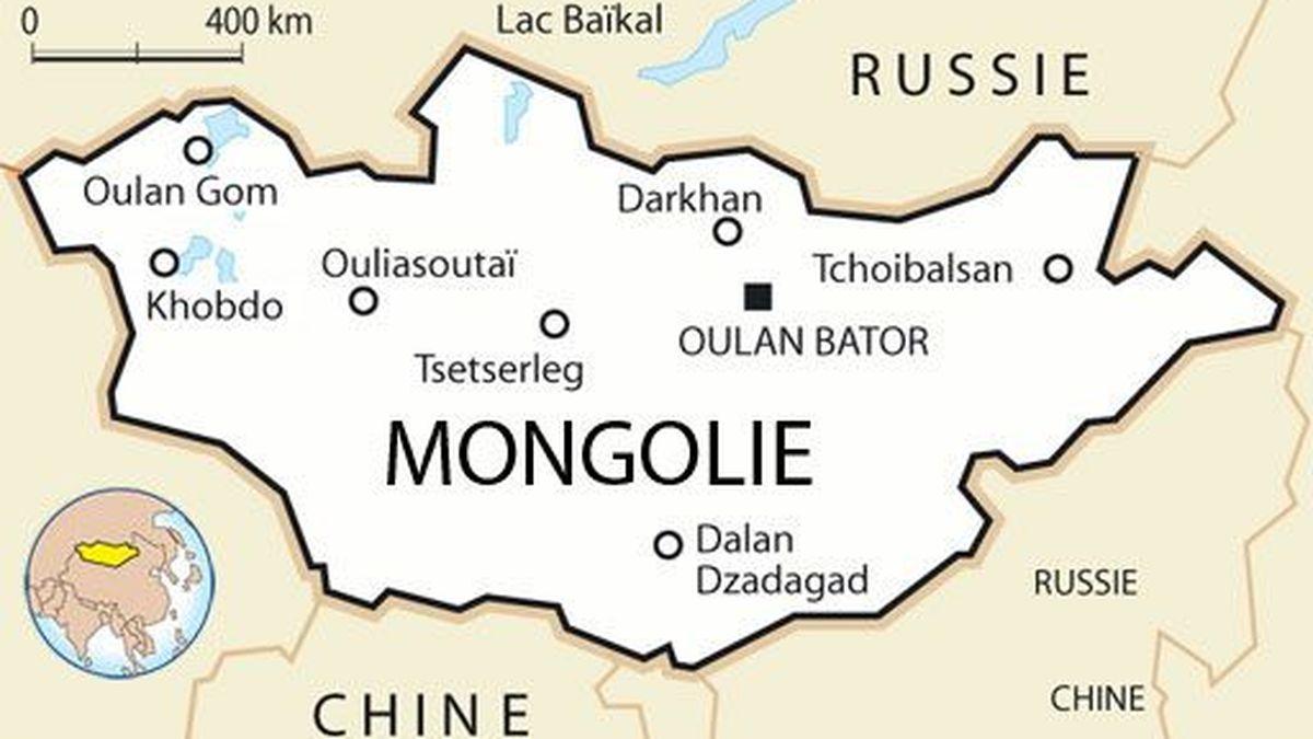 mongolie carte