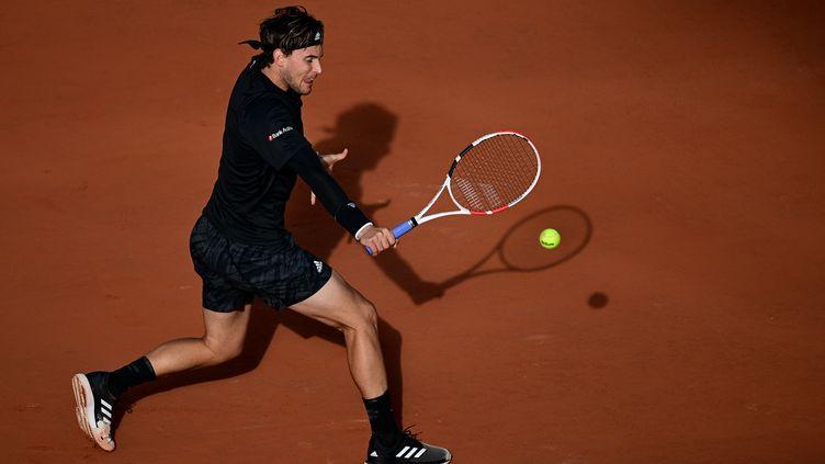 L'Autrichien Dominic Thiem, double finaliste à Roland-Garros (MARTIN BUREAU / AFP)