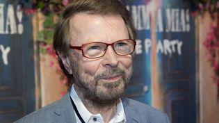 Bjorn Ulvaeus, un membre du groupe suédois ABBA, en 2020 (JONATHAN NACKSTRAND / AFP)