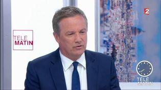 Nicolas Dupont-Aignan, leader du parti Debout la France. (FRANCE 2)