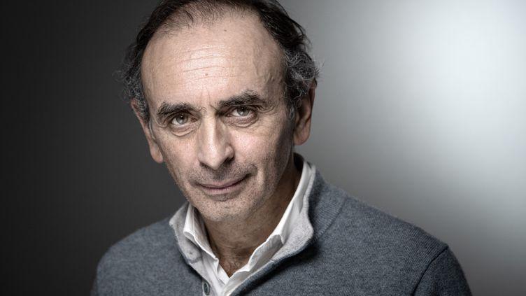 Le polémiste Eric Zemmour, au Salon du livre à Paris, 16 mars 2019. (JOEL SAGET / AFP)