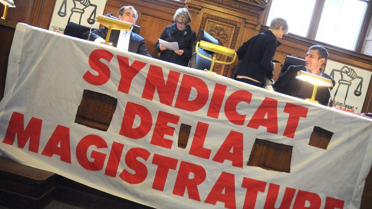 Photo d'illustration. Syndicat de la magistrature. (CHRISTOPHE MORIN / MAXPPP)