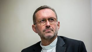 Mgr Olivier Ribadeau Dumas, le 10 octobre 2016. (VINCENT ISORE / MAXPPP)