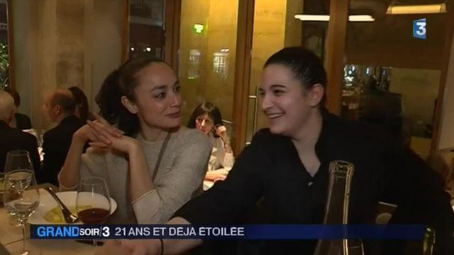 Gastronomie : à 21 ans, Julia Sedefdjian est la plus jeune chef étoilée de France