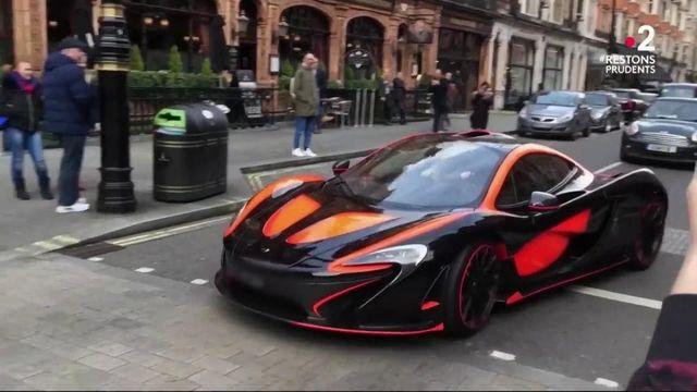 Angleterre : Londres en guerre contre les conducteurs de voiture de luxe