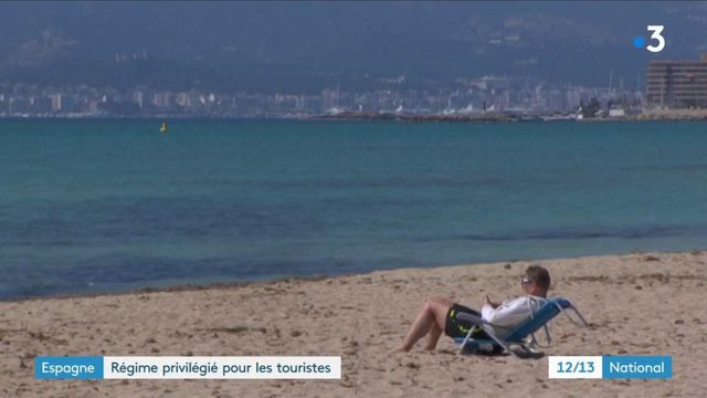 Espagne : les touristes étrangers privilégiés