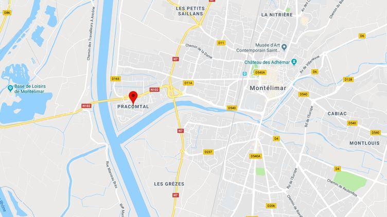 La victime rentrait chez ses parentsdans le quartier Pracomtal à Montélimar. (GOOGLE MAPS)