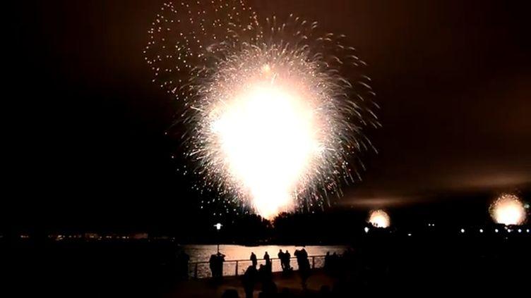 Le feu d'artifice du 4 juillet 2012, àSan Diego (Etats-Unis), devait initialement durer 18 minutes. (CAPTURE D'ECRAN YOUTUBE / FTVI)