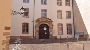 Le lycéeBartholdi de Colmar (Haut-Rhin). (CAPTURE D'ÉCRAN GOOGLEMAP)