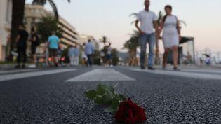 L'attentat avait fait 86 morts, sur la promenade des Anglais, à Nice, le 14 juillet 2016 (VALERY HACHE / AFP)