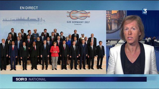 """Hambourg : """"Ce sommet du G20 est l'un des plus tendus"""""""