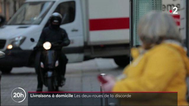 Livraisons à domicile : à Nantes, les scooters ne sont plus les bienvenus dans le centre-ville